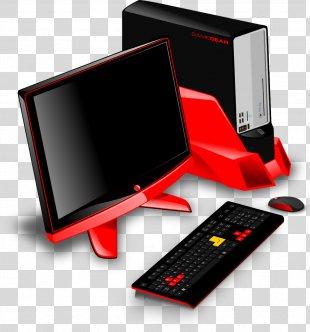 Computer Keyboard Desktop Computers Clip Art - Computer PNG