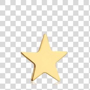 Body Jewellery Star Human Body - Gold Stars PNG