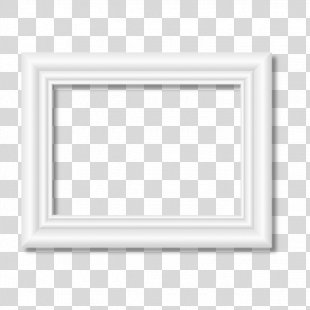 Black And White Pattern - White Frame PNG
