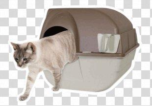 Cat Litter Trays Paw Box Pet - Cat PNG
