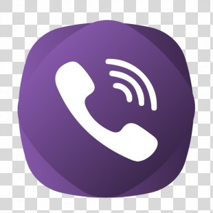 Viber Telephone Call Icon Design - Viber PNG