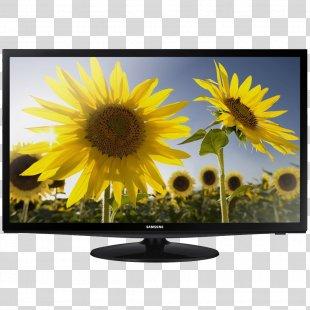 LED-backlit LCD 720p Samsung Smart TV High-definition Television - Tv PNG
