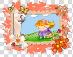 Picture Frames Flower Character Clip Art - Flower PNG
