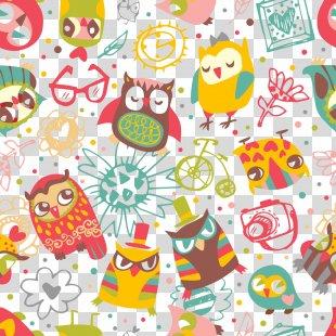 Owl Drawing Illustration - Cartoon Owl PNG