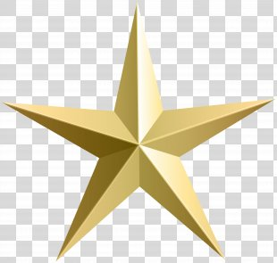 Gold Star Clip Art - Gold Star Cliparts PNG