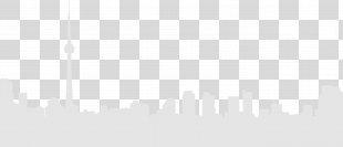 Toronto Skyline Mover Matheson Boulevard Black And White - Skyline PNG