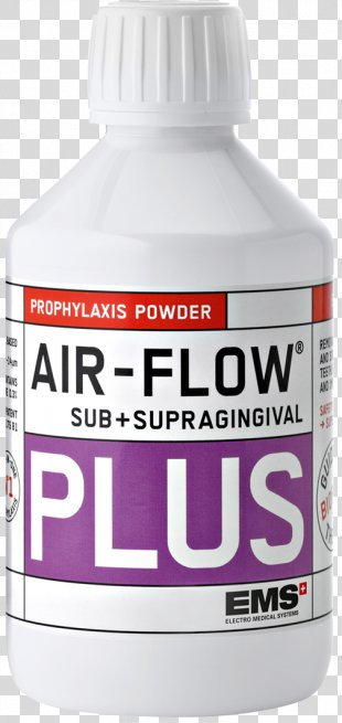 Liquid Airflow Teeth Cleaning Powder Dust - Front Teeth PNG