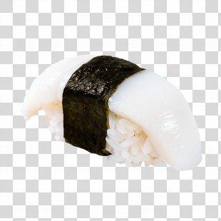 Sushi Makizushi Squid As Food Pizza Japanese Cuisine - Sushi PNG