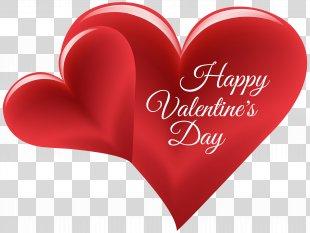 Valentine's Day Heart Friendship Day Clip Art - Happy Valentine's Day Hearts PNG Clip Art Image PNG