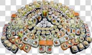 Sushi Makizushi Japanese Cuisine California Roll Cafe - Sushi PNG