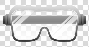 Goggles Safety Glasses Clip Art - GOGGLES PNG