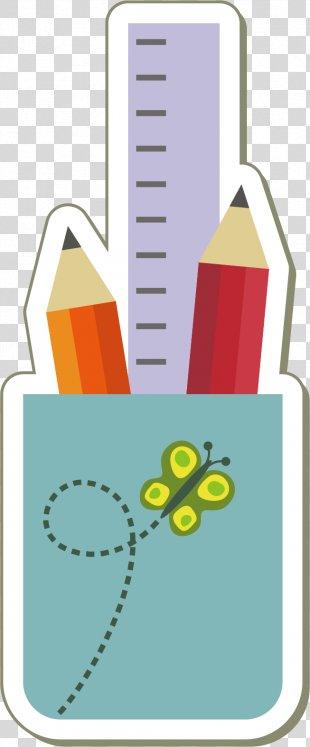School Ruler Clip Art - Pen Vector Material PNG