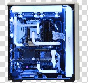 Computer Cases & Housings Computer System Cooling Parts Water Cooling Gaming Computer Homebuilt Computer - Computer PNG