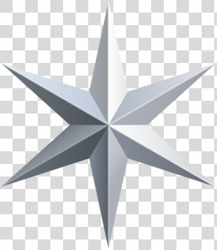 Silver Star Clip Art - Silver Star PNG