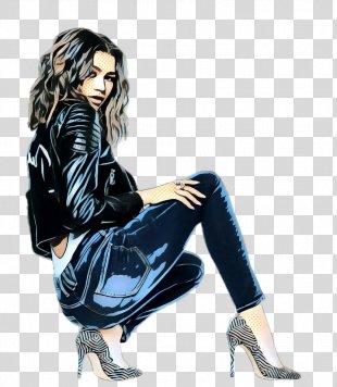 Clothing Sitting Leg Footwear Leggings - Photo Shoot Fashion Model PNG