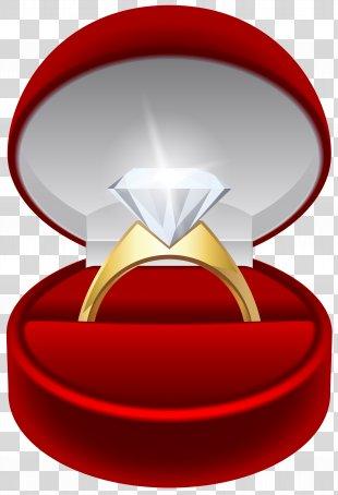 Engagement Ring Wedding Ring Clip Art - Engagement Ring Transparent Clip Art Image PNG