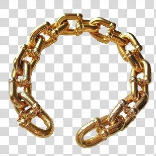 Chain Bracelet Bijou Silver Gold - Chain PNG