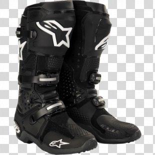 Motorcycle Boot Alpinestars Motocross Motorcycle Helmets - Motorcycle PNG