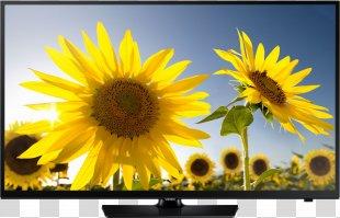LED-backlit LCD Samsung Smart TV High-definition Television 1080p - Tv PNG