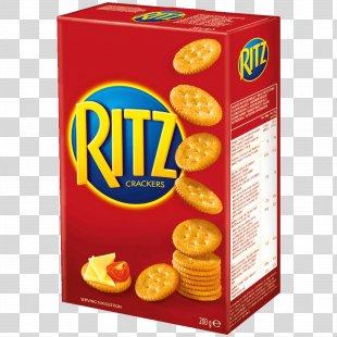 Ritz Crackers Water Biscuit Pretzel Nabisco - Cracker PNG