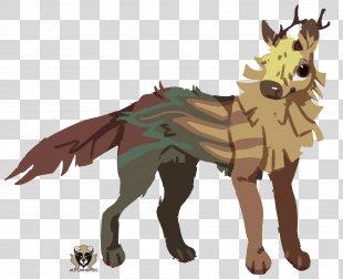 Mustang Donkey Cattle Dog Mammal - Tesseract Map PNG
