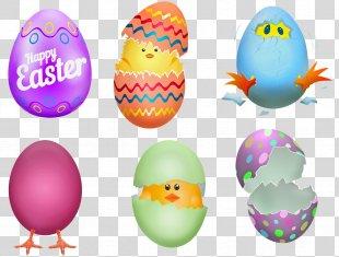 Easter Egg Chicken Easter Bunny - Silhouette Easter Egg Chick Egg Hunt PNG