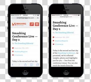 IOS 7 IPhone Safari Web Browser - Red Screen PNG