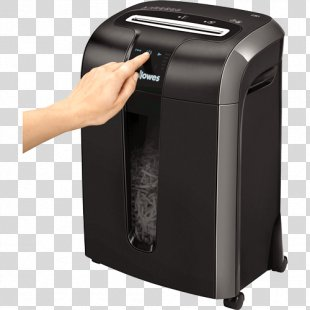 Paper Shredder Fellowes Brands Industrial Shredder Office Supplies - Paper Shredder. PNG