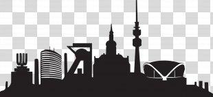 Borussia Dortmund Skyline Waltrop Ruhr Westfalenstadion - Skyline PNG