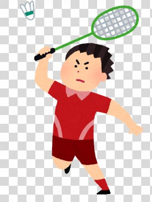 Badminton Athlete Racket Tennis Player Debel - Badminton PNG