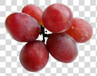Red Wine Malbec Grape - Grapes PNG
