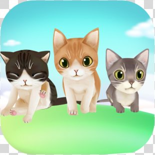 My Talking Kitten Cat My Virtual Pet Shop - Cute Animal Care Game My Talking TomKitten PNG