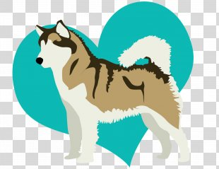 Puppy Dog Breed Siberian Husky Drawing Dogs Bark - Puppy PNG
