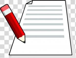 Paper Clip Art Pencil Drawing Image - Pencil PNG
