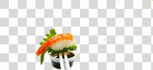 Yu Sushi Japanese Cuisine Food - Japanese Shrimp Sushi PNG