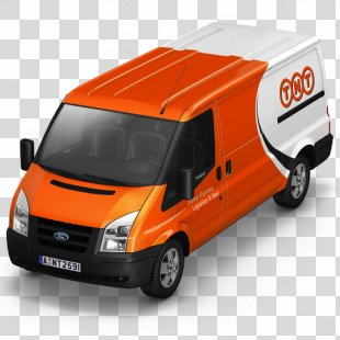 Compact Van Model Car - TNT Van Front PNG