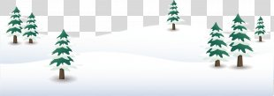 Euclidean Vector Snow Winter Dongzhi - Snowy Winter Snow Vector Material PNG