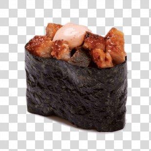 Sushi Makizushi Unagi Sashimi California Roll - Sushi PNG