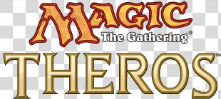 Magic: The Gathering Commander Theros Logo Magic: The Gathering Deck Types - Magic The Gathering Logo PNG