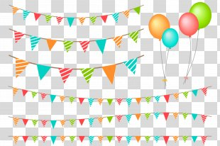 Birthday Balloon Party Image Feestversiering - Birthday PNG