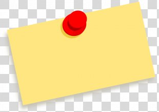 Paper Post-it Note Download - Sticky Note Clipart PNG