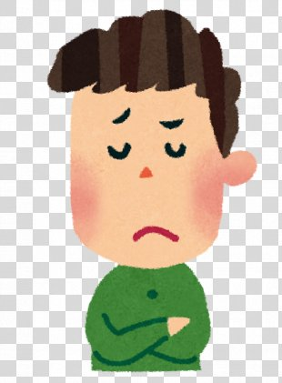 Person Facial Expression Irritable Bowel Syndrome いらすとや - Thinking Boy PNG
