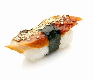 Sushi Makizushi Pizza Unagi Japanese Cuisine - Sushi PNG