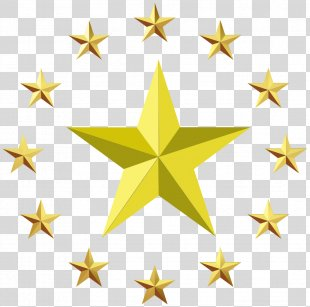 Star Europe Clip Art - Gold Stars PNG
