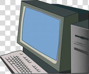Computer Keyboard Computer Monitors Clip Art - Computer PNG