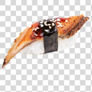 Unagi Sushi Caviar Japanese Cuisine Makizushi - Sushi PNG