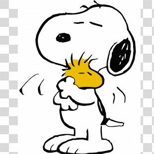 Snoopy Charlie Brown Woodstock Peanuts Comic Strip - Snoopy PNG
