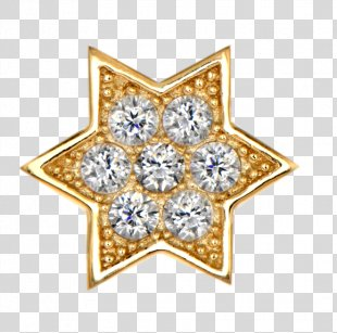 Gold Star Clip Art - Gold PNG
