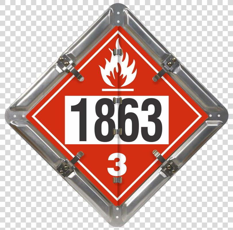 Placard Flammable Liquid Dangerous Goods Combustibility And Flammability UN Number, Placard PNG