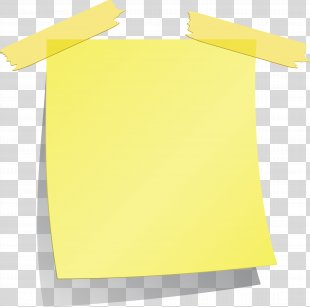 Post-it Note Paper Square - Sticky Note PNG